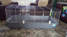 """Indoor hutch suitable for rabbit or guinea pig. 47"""" x22""""h x20"""" w. Easy to clean. Buyer collects."""