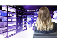 10% off Cut & Color by fully trained Toni & Guy hair stylist