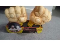 Bruce Lee Dragon Fists (new, in packaging) fancy dress toys bargain