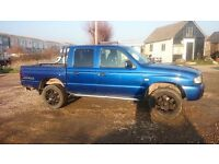 Mazda B2500 4by4 pick up truck