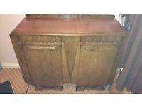 soild wood sideboard cupboard