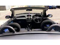 Peugeot 206cc convertible 1.6 coupe