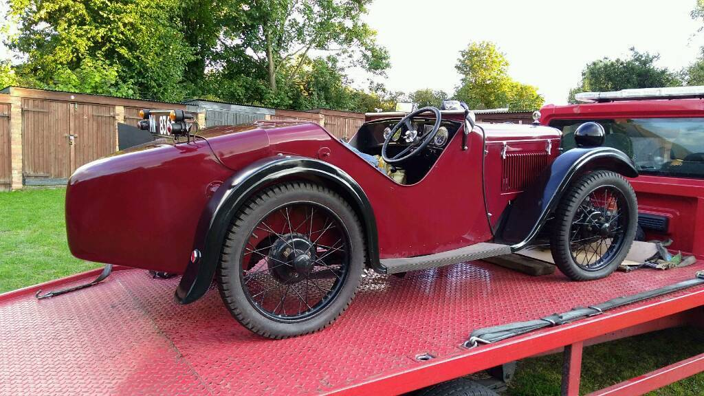 1930 EAS. Austin ULSTER Sports replica.