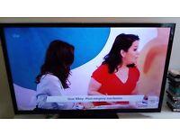 Panasonic Vieira LX50EM5B 1080p 50inch TV.