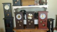 Hand made clocks *****Available Now****