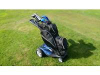 Stewart remote control golf trolley
