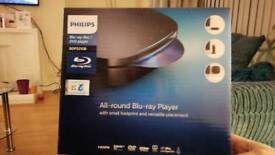 Philips Blue Ray disc/DVD Player - Brand new