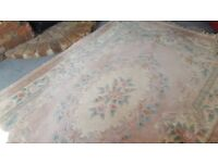 Large Chinese Rug 9ft by 6ft