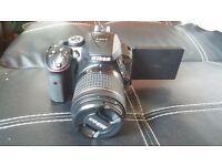 Nikon D5300 Digital SLR Camera - Black (24.2 MP, AF-P 18-55VR Lens Kit) 3-Inch LCD Screen