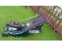Hayter hawk 41 petrol push lawnmower vgc