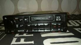 Rover car cassette radio