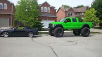 2005 Ford F-350 xlt crew cab monster truck 6.0l