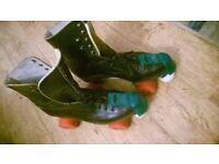 Vintage roller boots, size 8