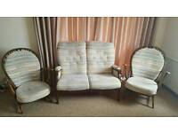 Double sofa and 2 armchairs
