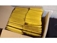80 Padded bubble wrap envelopes 177mm x 220mm