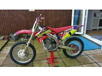 CRF450R road reg supermotor