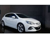 STUNNING MARCH 2014 VAUXHALL ASTRA LIMITED EDITION 1.7 CDTI 6SPEED WHITE 28K 19INCH WHEELS BODYKIT!!