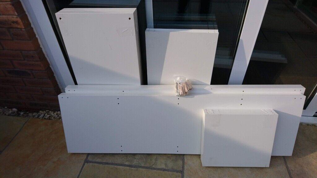 Ikea Kallax Shelving unit, white, 77x147 cm   in Bristol   Gumtree
