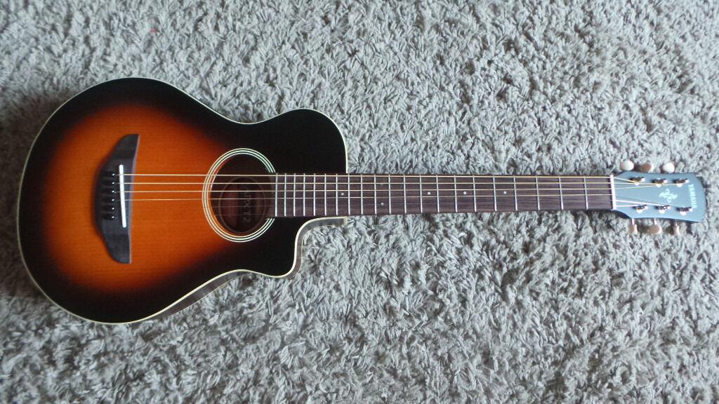 yamaha 3 4 guitar. yamaha apxt2 3/4-size acoustic-electric guitar - still in box! 3 4