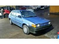 1989 Nissan Sunny 1.3 petrol gs model spares or repair classic car