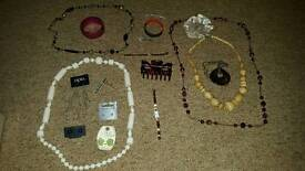 Misc selection of jewellery