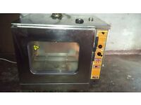 Electric convection oven Sogeco