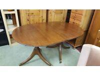 Large Pedestal Dining Table