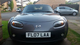 MX 5 Mk3 - engine rebuilt, new suspension. 2500 quid spent. Hobby, well maintained car.