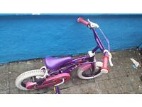Girls mia bike