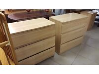 2X Ikea Chest of Drawers & small Drawer