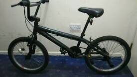 Good condition kids black bmx for sale