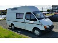 Nice little camper van with a long MOT.