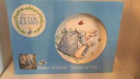 Peter Rabbit Nursery Set