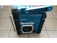 Used Makita BMR106 Site Radio FM/AM/AUX/Bluetooth