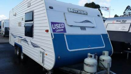 Mirage Drysdale (By La Vista Caravans) 18ft combo Epping Whittlesea Area Preview
