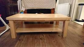 Pine coffee table in immaculate condition