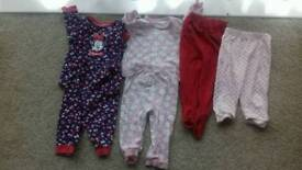 Girls pyjamas 9 12mths