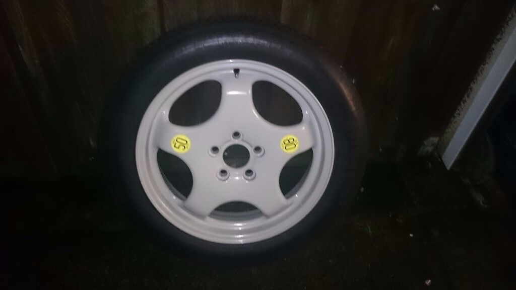 Bmw X5 E53 And F15 And X6 F16 Space Saver Spare Wheel 19 Quot Reduced In Sale Manchester