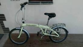 Raleigh fold-down bike