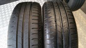 195 65 15 2 x tyres Michelin Energy Saver