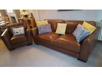 sisi Italia leather sofa