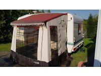 1-2-Trio Awning Caravan Porch - Complete - Good Condition