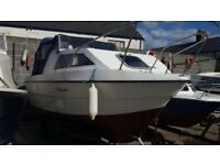 Weston 560 cabin fishing boat for sale or swap