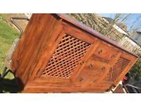 Oak wood furniture