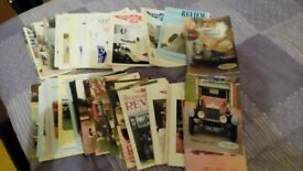 Lots of car magazines