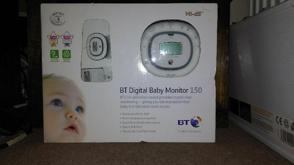 bt digital baby monitor 150 in mickleover derbyshire gumtree. Black Bedroom Furniture Sets. Home Design Ideas