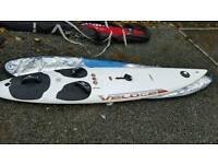 Bic veloce windsurfer and sail