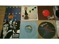 12 vinyl records singles picture disc