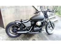 125 Bobber motorbike