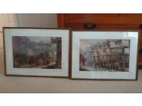 Two Maggs framed prints of London Taverns